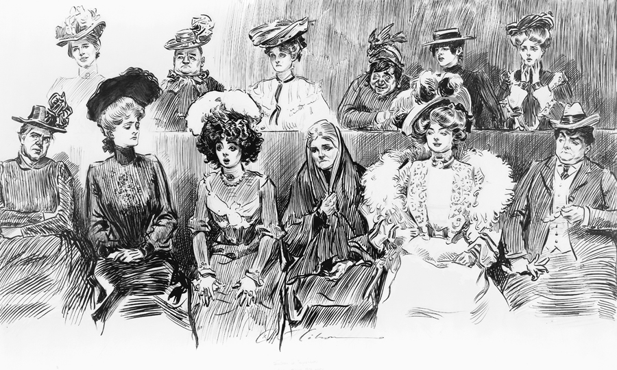 Studies in expression. When women are jurors