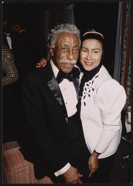 Gordon Parks and Xernona Clayton