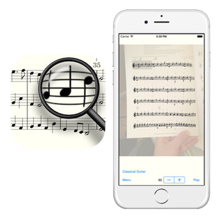 Sheet Music Scanner tech tool
