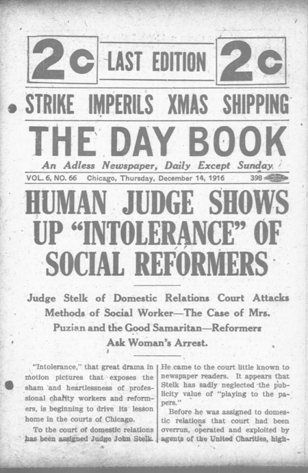 The Day Book. (Chicago, Ill.), 14 Dec. 1916