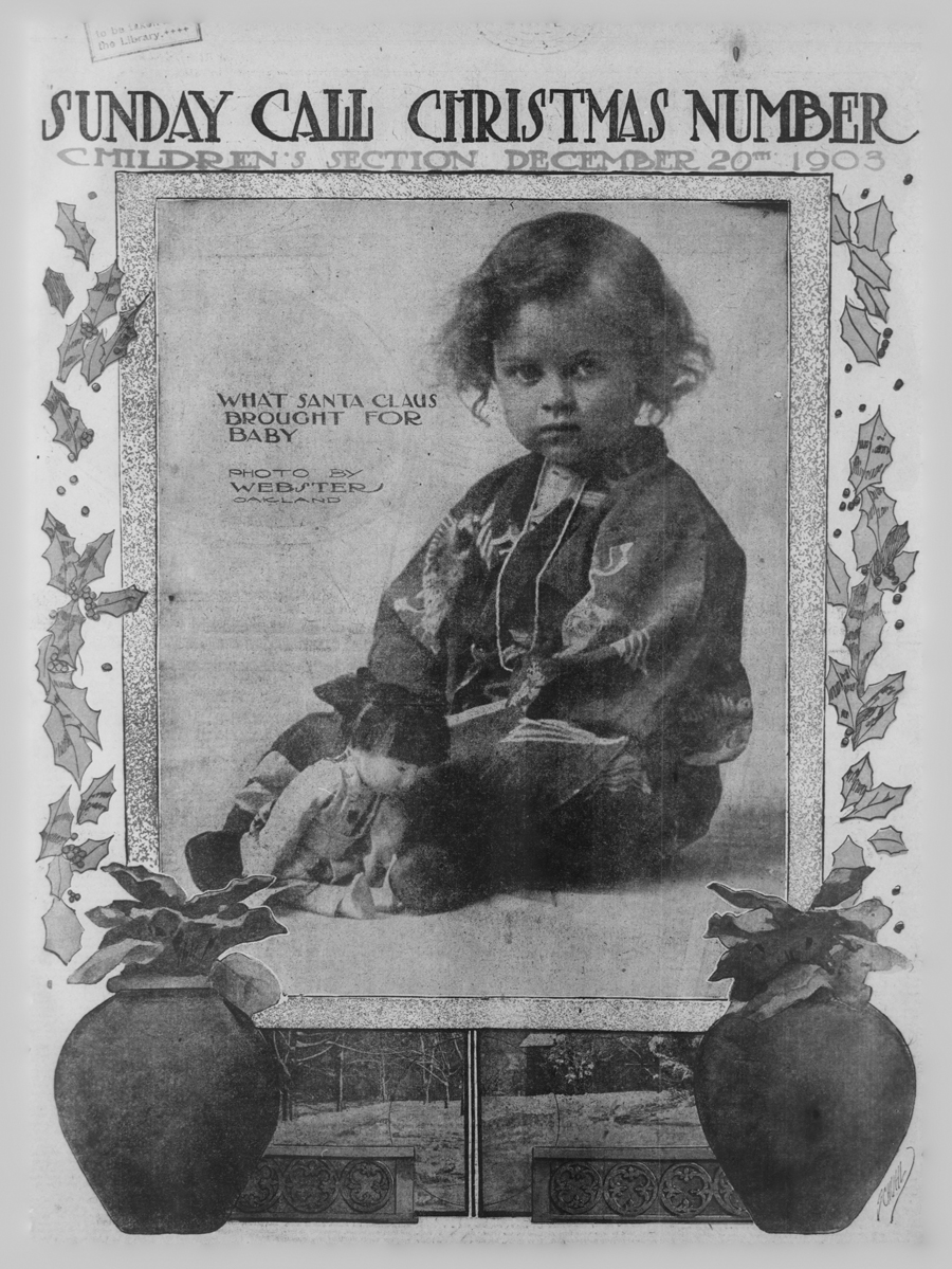 1903 Christmas Children's Section