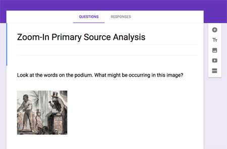 Zoom-In Primary Source Analysis