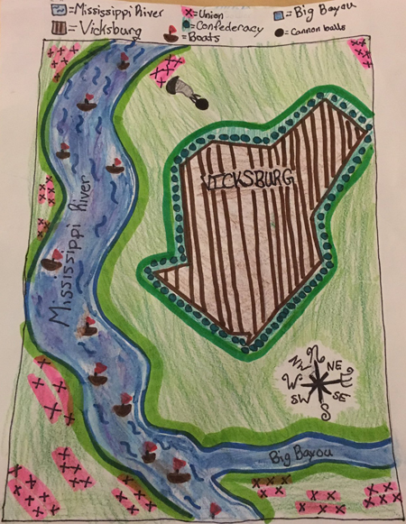 Vicksburg map