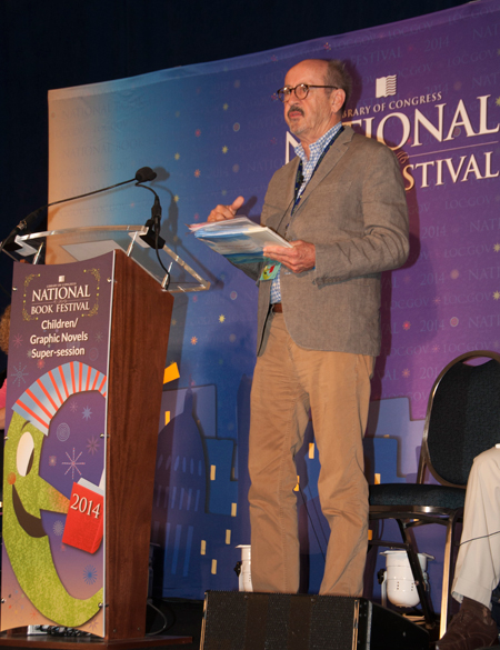 Billy Collins at the 2014 National Book Festival