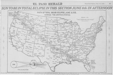 Total Solar Eclipse 1918