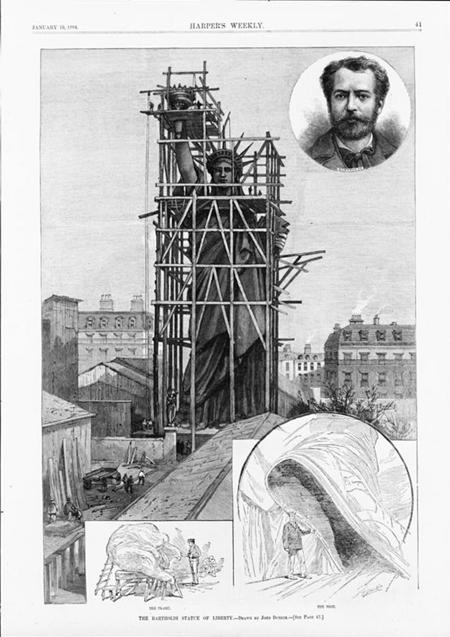 The Bartholdi Statue of Liberty