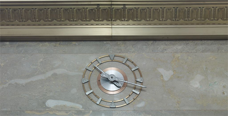 Wall clock. Library of Congress John Adams Building