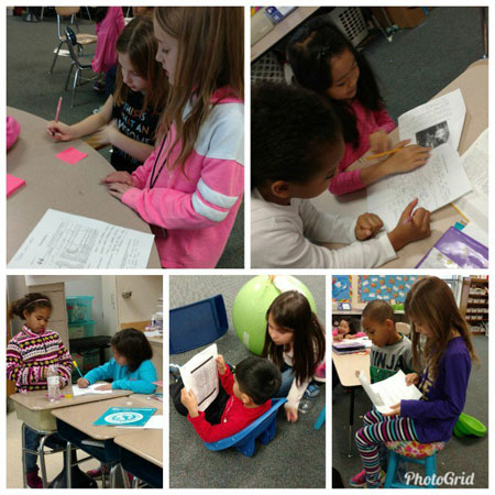 Second graders are using primary sources to learn about history.  Amazing how much we can learn!