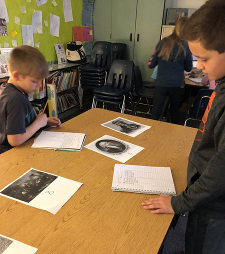 """Analyzing primary sources and generating """"wonder"""" statements to explore further."""