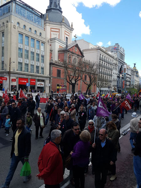 May Day in Spain 2018