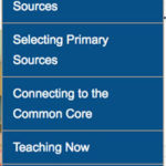 Finding Resources: Browsing the Primary Source Nexus