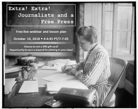 Citizen U Webinar: Teaching About Journalists & a Free Press