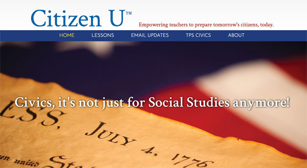 Citizen U: Interdisciplinary Civics Lessons