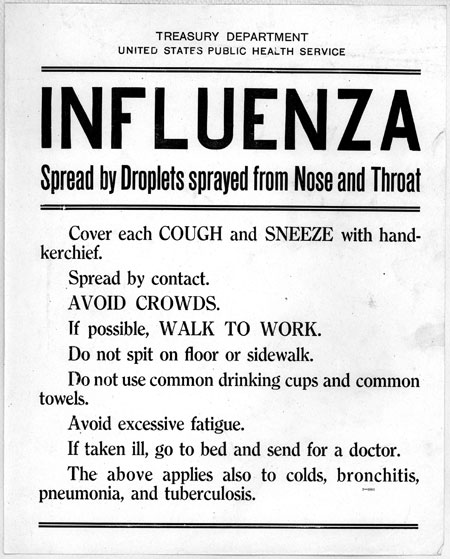 Primary Source Spotlight: Influenza