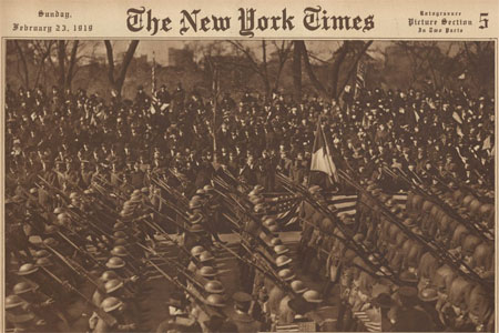 Harlem Hellfighters The New York Times February 23, 1919