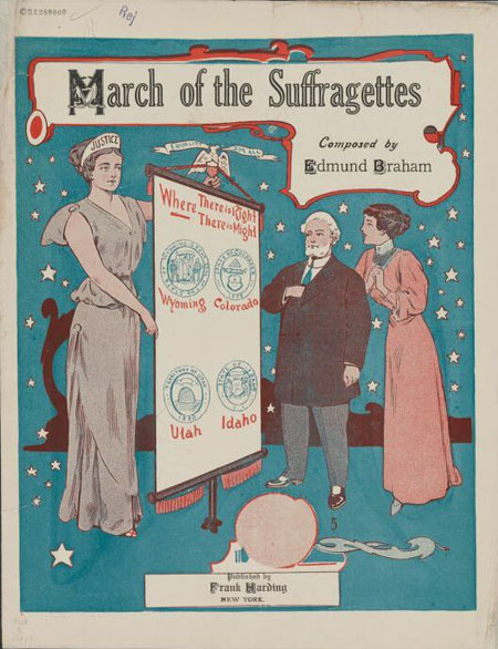 Collection Spotlight: Women's Suffrage in Sheet Music