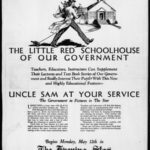 Little red schoolhouse of our government