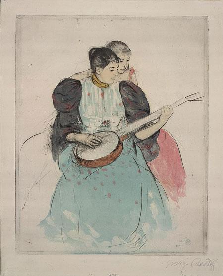 The banjo lesson / Mary Cassatt