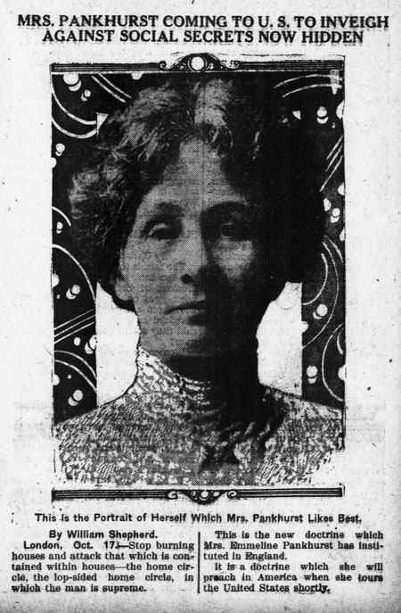 Primary Source Spotlight: Emmeline Pankhurst