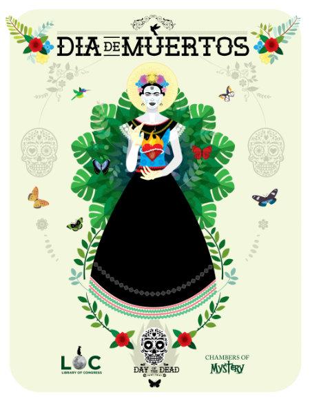 LoC-Halloween-Frida-Kahlo