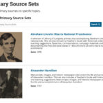 LOC.gov Primary Source Sets Teacher Guides