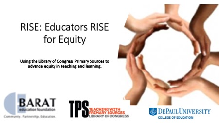 TPS Spotlight: RISE for Racial Equity Webinars & Micro-credential