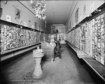 post card shop
