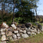 Stone fence in Litchfield, Connecticut