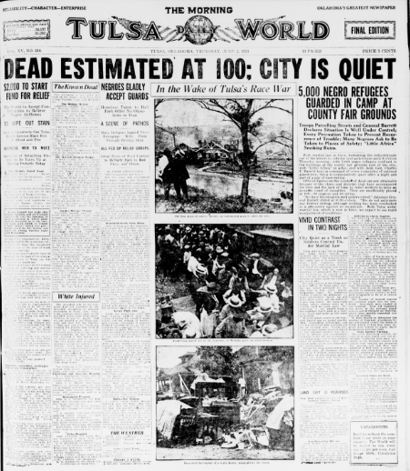 Timely Connections: The Tulsa Race Massacre Then and Now