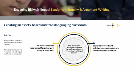 Engaging Bi/Multilingual Students in Inquiry & Argument Writing