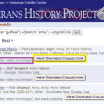 Searching the VHP Collections